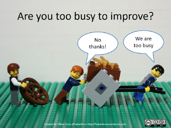 Are you too busy?