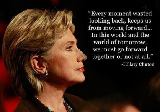 ヒラリー・クリントンの英語名言