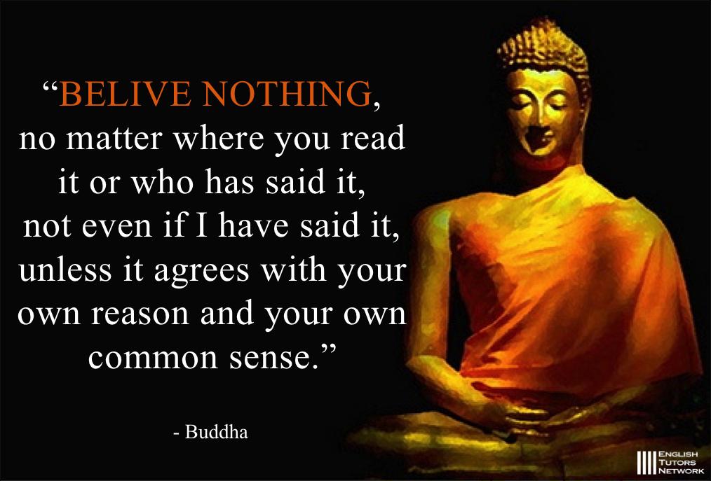 仏陀の英語名言